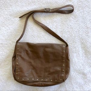J. Jill Leather Messanger Crossbody Purse